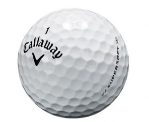 Callaway Supersoft ball