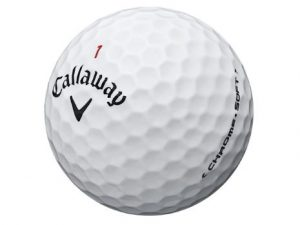 Callaway chrome soft ball