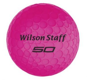 Wilson Staff fifty elite balls