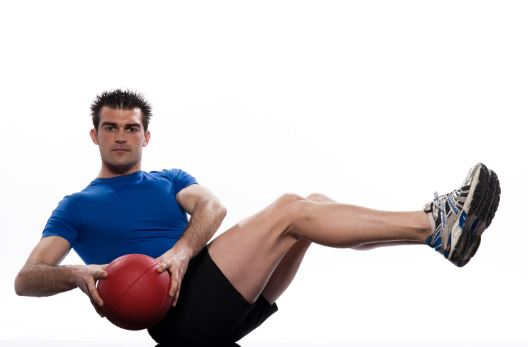 Medicine Ball Core Rotations
